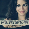 When I Think About You It Makes Me Smile