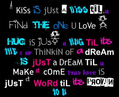 Kiss Is Just A Kiss