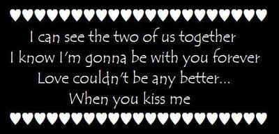 You Kiss Me