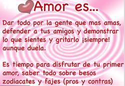 Amore es..