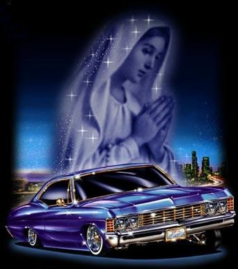 Blue Impala Lowrider