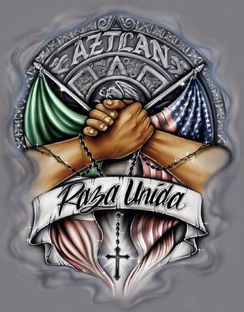 Raza unida latino - Chicano pride images ...