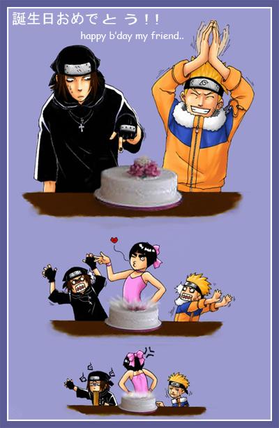 Habbpy B'day My Friend Naruto