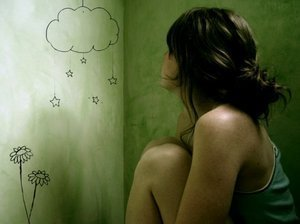 Emo Thinking Girl