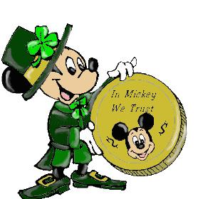 Mickey Mouse St.Patrick's Day
