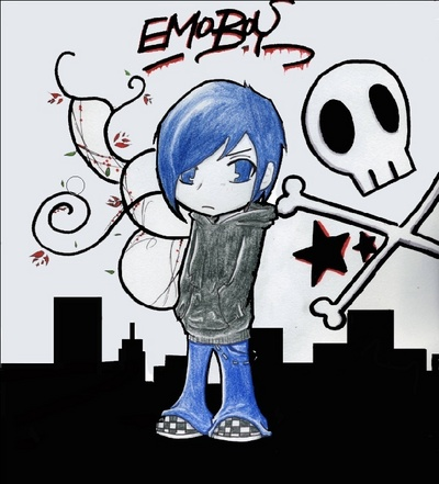 emo guys cartoon pictures. emo guys cartoon pictures. cool emo boys cartoon. Emo Boy blue hairs; Emo