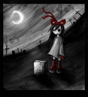 Emo Girl Scary