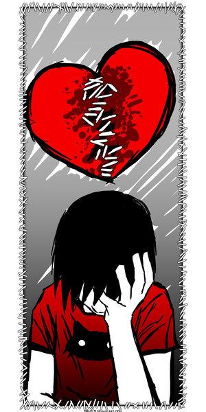 Heart Broken Emo Boy