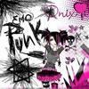 Emo Pink Black