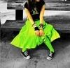 Emo Girl Green