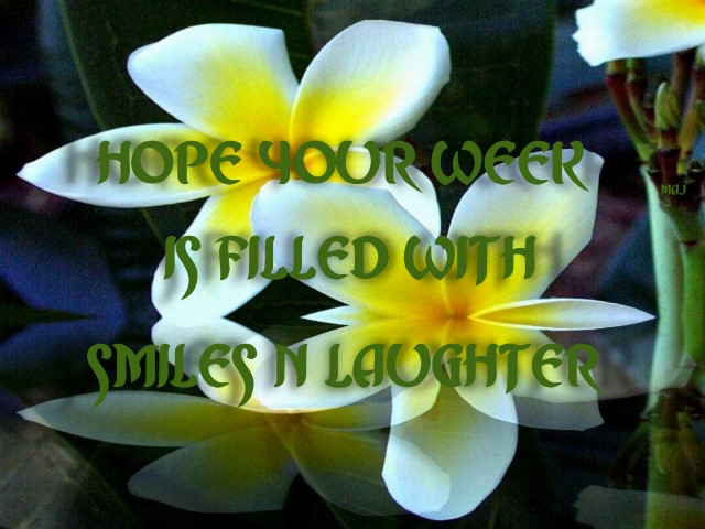 Hope Your Week Is Filled With Smiles And Laughter