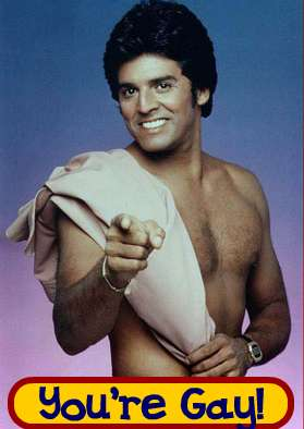 Eric Estrada You're Gay