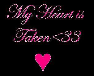 Y Heart Is Taken <33