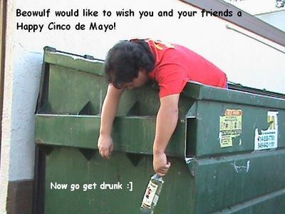 Happy Cinco De Mayo Drunk Guy
