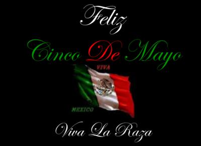 Feliz Cinco De Mayo Viva Mexico Flag