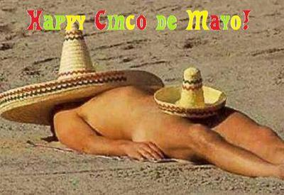 Happy Cinco De Mayo Dude On The Beach