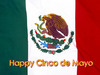 Happy Cinco De Mayo Mexican Flag