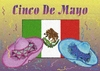 Cinco De Mayo Flag And Sambreros