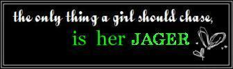 The Only Thing A Girl Should Chase, Is Her Hager