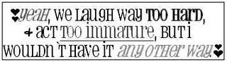 We Laugh Way To Hard