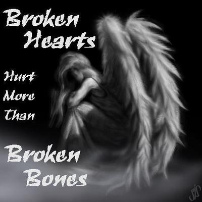 Broken Hearts Hurt More Than Broken Bones