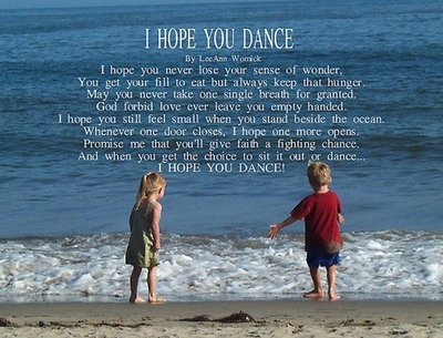 i hope you dance