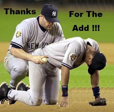 Yankee Thanks for the add