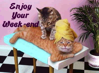 enjoy your week-end