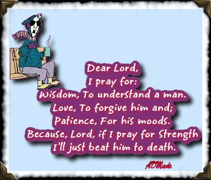 i pray for wisdom to understand a man