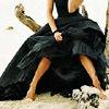 girly, black dress