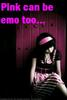 pink can be emo too