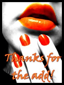 THANKS FOR THE ADD, ORANGE LIPS