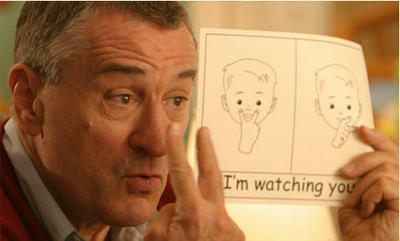 I'm watching you - Robert De Niro