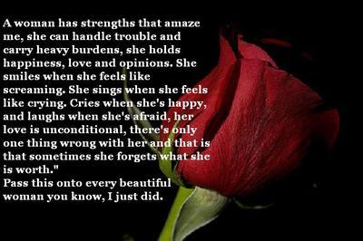 Pass this onto every beautiful woman