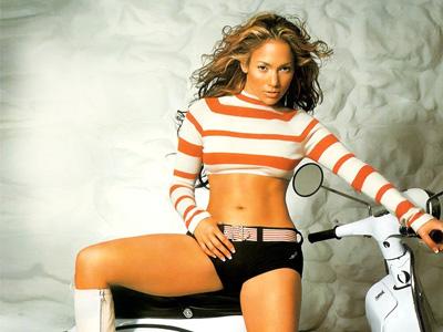 Female celeb Jennifer