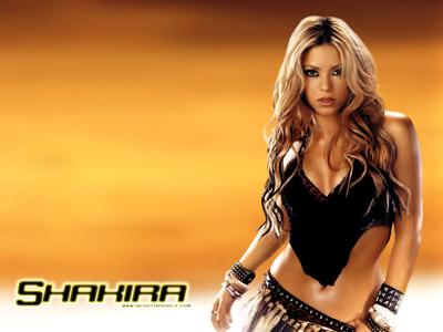 Female celeb Shakira