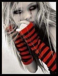 EMO BLOND GIRL