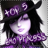 TOP 5 EMO PRINCESS