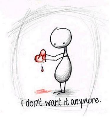 i don't want it anymore