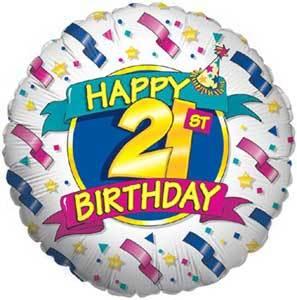 happy 21 st birthday