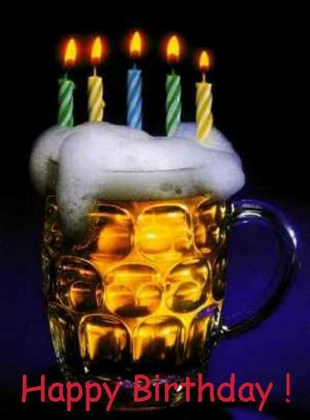 Happy Birthday -- Beer