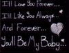i'll love you forever....
