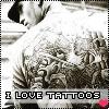i love tattoos