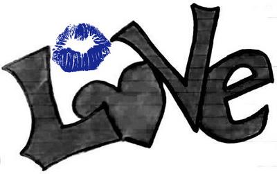 love blue kiss