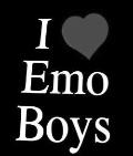 I love emo boys