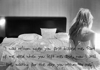 i still live waiting for the day you return to me