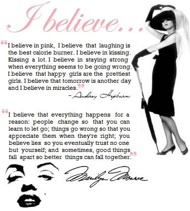 I believe quotes for girls