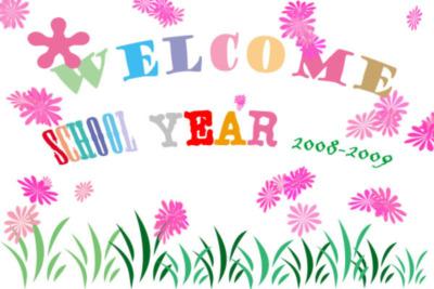 WELCOME SCHOOL YEAR