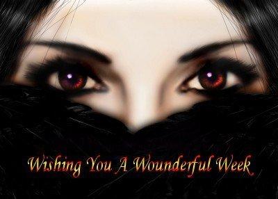 wishing you a wonderful week!