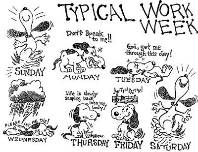 Typical work week